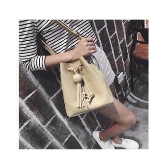 Shoulder bag กระเป๋าสะพายไหล่ สีน้ำตาล