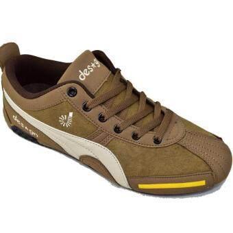 CSB Design รองเท้าผ้าใบผู้ชาย CSB Design รุ่นใหม่DS9811 (สีน้ำตาล)