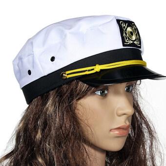 กัปตันเรือกัปตันเรือลูกเรือกรมท่าแต่งชุดแฟนซีหมวกหมวกแก๊ปนาวี