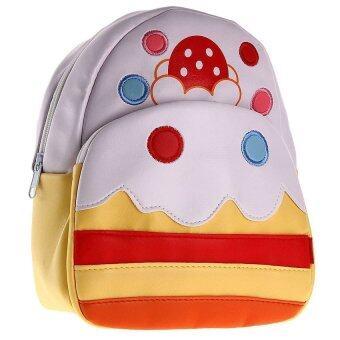Generic Children Kids Kindergarten Backpack Shoulder School Bag Cake Shape Travel (image 1)