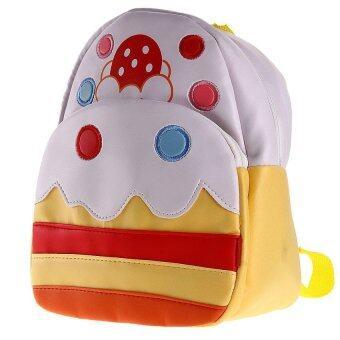 Generic Children Kids Kindergarten Backpack Shoulder School Bag Cake Shape Travel (image 2)