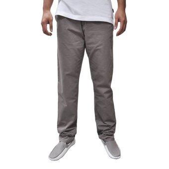 OASIS กางเกงขายาวผู้ชาย รุ่น Chino Pants MCHT8283-BR สีน้ำตาล