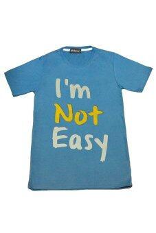 NOLOGO เสื้อยืด รุ่น I'm Not Easy (สีเทาอากาศ)