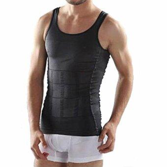 Allwin ร่างกายผอมท้องคนท้องกางเกงชั้นในรัดเอวเฉียบแหลม shapewear เสื้อเชิ้ตสีดำ M