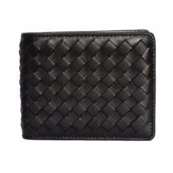 Trifold Wallet - Lamb Skin - กระเป๋าสตางค์ผู้ชาย หนังแกะ