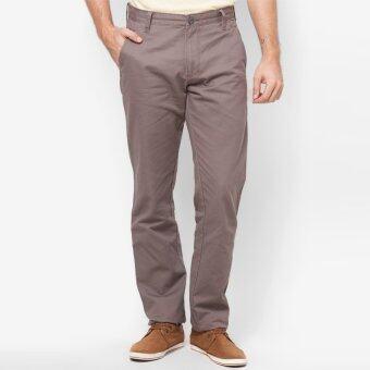 OASIS กางเกงขายาวผู้ชาย Big Size รุ่น Chino Pants MCH8442-BR สีน้ำตาล
