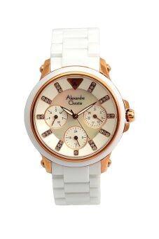 Alexandre Christie นาฬิกาข้อมือผู้หญิง สายเซรามิค
