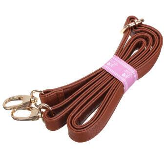 กระเป๋ากระเป๋าถือกระเป๋าสตางค์ Crossbody รัดไหล่แทนเงินปรับได้จัดการสีน้ำตาล