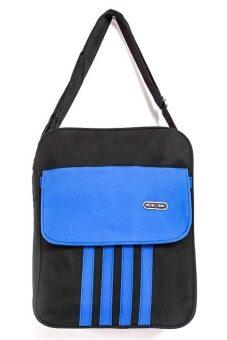 DM กระเป๋าสะพายข้าง NX - สีดำ/น้ำเงิน