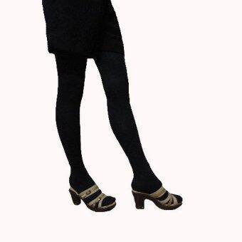 Venisof Blackถุงน่องรักษาเส้นเลือดขอด สีดำ แบบเต็มตัว Long(คนใส่สูงเกิน160 cm.)