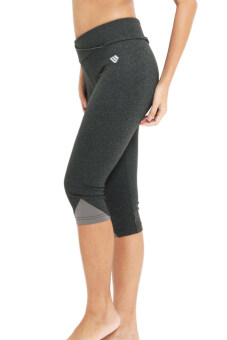 Serene กางเกงกีฬา รุ่น SC001 - สีเทาเส้นดำ/เทา