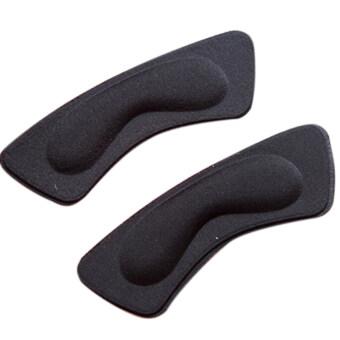 2ชิ้นผ้ารองเท้าส้นเท้าติดแผ่นรองแทรกย้อนกลับ Insoles SCHS จับดินสอ