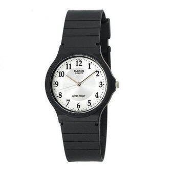 Casio Standard นาฬิกาข้อมือ รุ่น MQ24-7B3 - Black