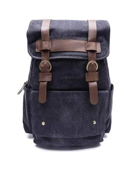 Marino Backpack Made By Canvas รุ่น 3768 (Black)