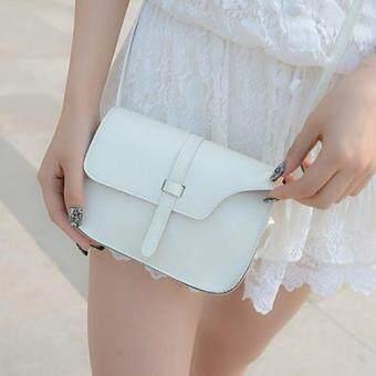 Moniga กระเป๋าถือพร้อมสายสะพาย รุ่น White Mini001 (image 0)