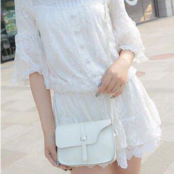 Moniga กระเป๋าถือพร้อมสายสะพาย รุ่น White Mini001 (image 2)