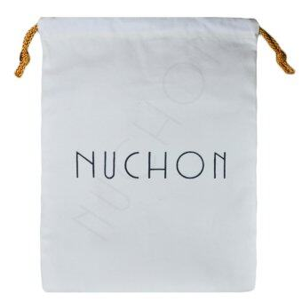 NuChon Care Wallet Bags ถุงผ้ากระเป๋า ถุงผ้าถนอมกระเป๋าสตางค์ รุ่น NCW-001-White