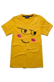 NOLOGO เสื้อยืดเด็ก รุ่น หน้าเขิล (สีเหลือง)
