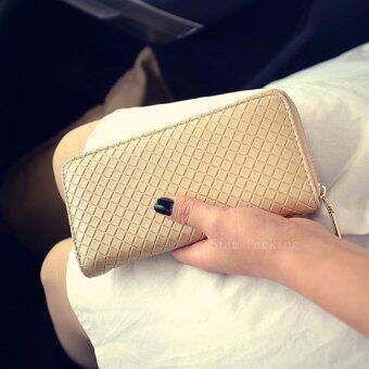 NW Fashion กระเป๋าสตางค์ผู้หญิง สีทอง
