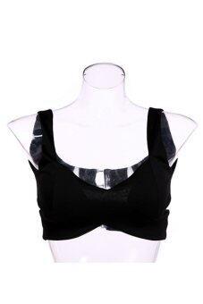 AZONE เสื้อยกทรงผู้หญิงตัดกีฬา (สีดำ)