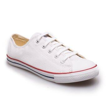 Converse รองเท้าผ้าใบ ผู้หญิง รุ่น ALL STAR DAINTY OX WHITE - 11100D100WW (WHITE)