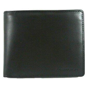 Creer Hombre Porto Collection Wallet CH-5821BL กระเป๋าธนบัตรหนังแท้ รุ่นพอร์โต้ - Black