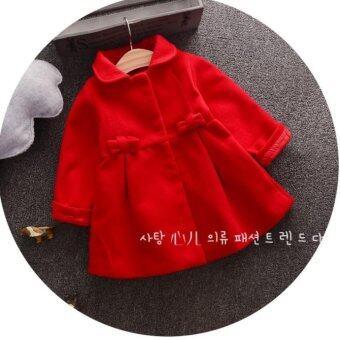 d2kids เสื้อโค้ชกันหนาวสีแดงเลือดหมู