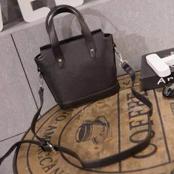 Nitta Bag กระเป๋าถือ กระเป๋าสะพายข้าง กระเป๋าสะพายไหล่ รุ่น NT-127 (สีดำ)