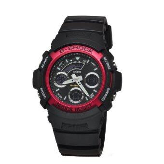 Casio G-Shock Men's Black Resin Band Watch AW591-4A