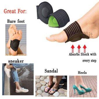 Elit Strutz Cushioned Arch Supports แผ่นรองฝ่าเท้าเพื่อสุขภาพ ลดอาการบาดเจ็บ ลดความปวดเมื่อย (image 3)