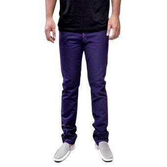 OASIS กางเกงขายาวผู้ชาย รุ่น Chino MCHL8285-MP สีม่วง