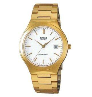Casio Standard นาฬิกาข้อมือ Gent quartz รุ่น MTP-1170N-7ADF (สีทอง)