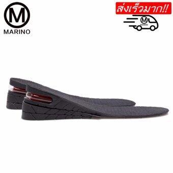 Marino แผ่นเสริมส้นเพิ่มความสูง 7 เซนติเมตร No. N101 - Black