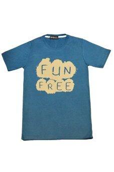NOLOGO เสื้อยืด รุ่น FunFree (สีเทาอากาศ)