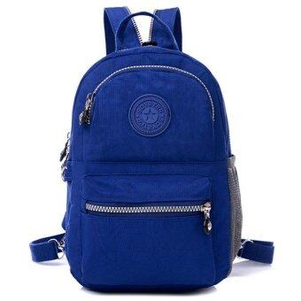 RICHCOCO กระเป๋าเป้สะพายหลัง Nylon leisure Backpack (Dark Blue)
