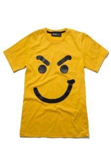 NOLOGO เสื้อยืดเด็ก รุ่น คิ้วเข้ม (สีเหลือง)