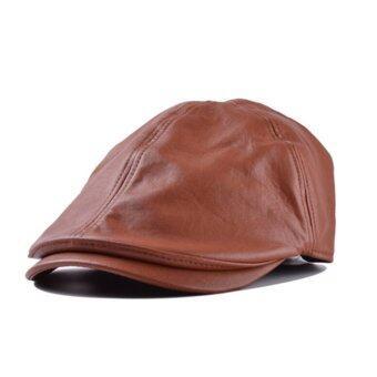 หมวกหนังหมวก lvy เพศตลอดไปสวมหมวกโชเฟอร์ Gatsby กอล์ฟหมวกแบน-ระหว่างประเทศ