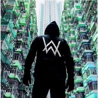 2017Mens Hoodies Sweatshirts Music DJ Comedy Alan Walker Hip Hop Hoodie Black Jacket Men Clothes Fashion. >>>>