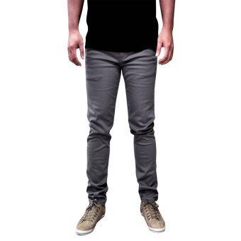 OASIS กางเกงขายาวผู้ชาย รุ่น Chino MCHT9048-GM สีเทา