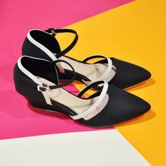 ESTHER รองเท้าผู้หญิง รุ่น M337 (Black) (image 1)