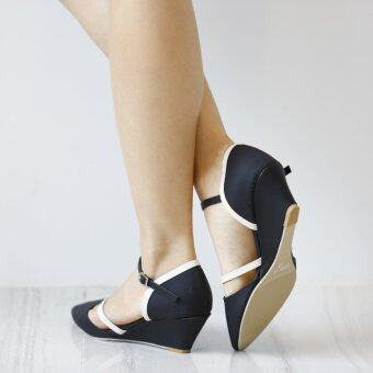 ESTHER รองเท้าผู้หญิง รุ่น M337 (Black) (image 3)