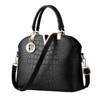 NYB กระเป๋าถือ กระเป๋าสะพายข้างสำหรับผู้หญิง รุ่น 1721 (สีดำ)