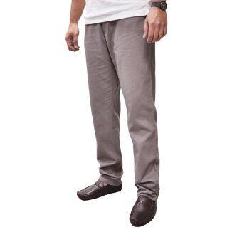 OASIS กางเกงขายาวผู้ชาย Big Size รุ่น Chino Pants MCH8441-BR สีน้ำตาล