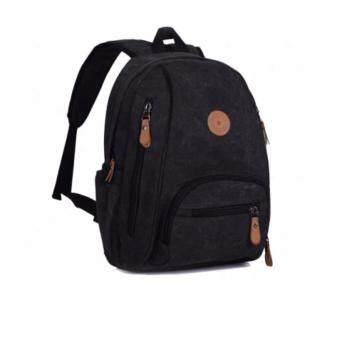 Bag gammon Voyager กระเป๋าเป้ผู้ชาย แคนวาส (สีดำ)