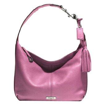 Coach Avery Leather Hobo Shoulder Bag รุ่น 23960 - Rose