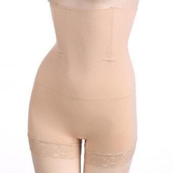 GETEK Cincher เสื้อผู้หญิงเอวก้นควาย Bustier Shapewear (แอปริคอท)