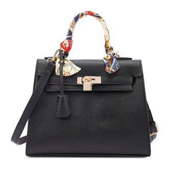 Nuchon Bag กระเป๋าสะพายข้างสีดำ รุ่น Kerlly Black