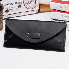Jianyue นักเรียนหญิงแพคเกจบัตรใหม่กระเป๋าสตางค์ (สีดำ) ราคา 126 บาท