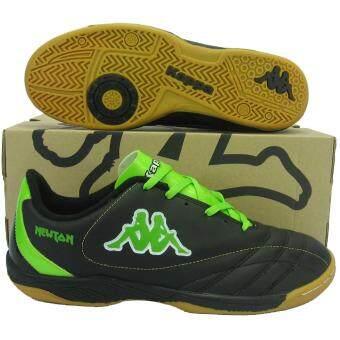รองเท้ากีฬา รองเท้าฟุตซอล KAPPA 1466 NEWTON ดำเขียว
