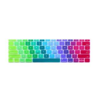 Keyboard Protective Film 13 Inch for Apple Mac-book Air Mac-book Pro US Version Bright (Multicolor)